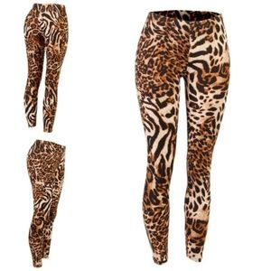 f0c7a0563b745 Pants - Mia the Tiger's Lux Life Sexy Leopard Leggings!